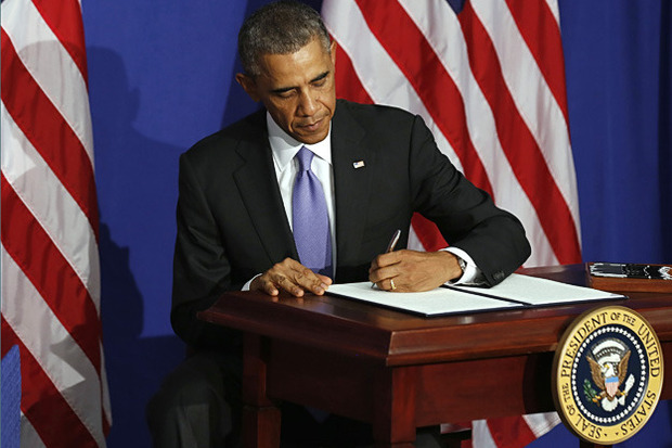 POTUS signs exec order for credit card security